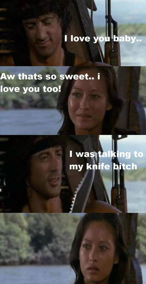 Rambo defines love