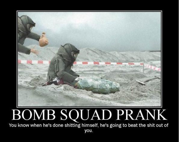 bomb and immaturity