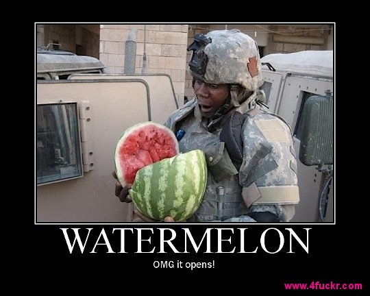 water melon opens